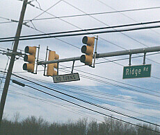 Haunted Traffic Light on Route 1