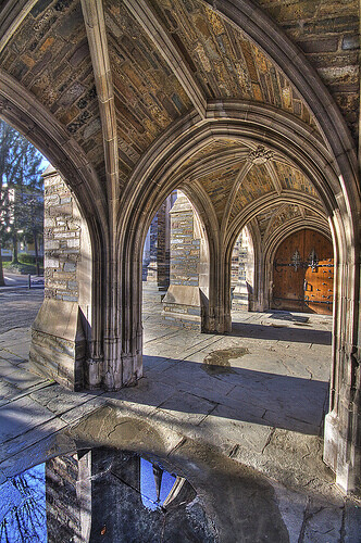 Princeton archway